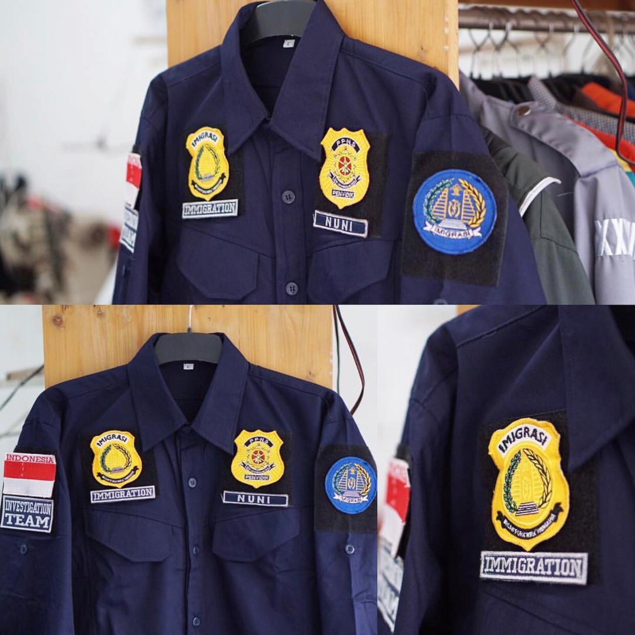 seragam kerja imigrasi