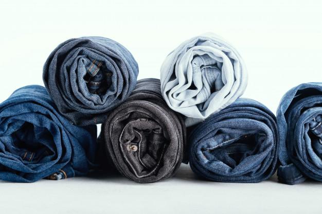 Denim/jeans sebagai bahan jaket